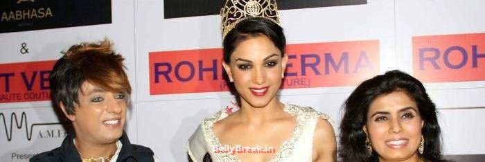 Rohit Verma, Shilpa Marigold, Sunny Leone, Koena Mitra Hot Pics from  Rohit Verma's Bridal Show