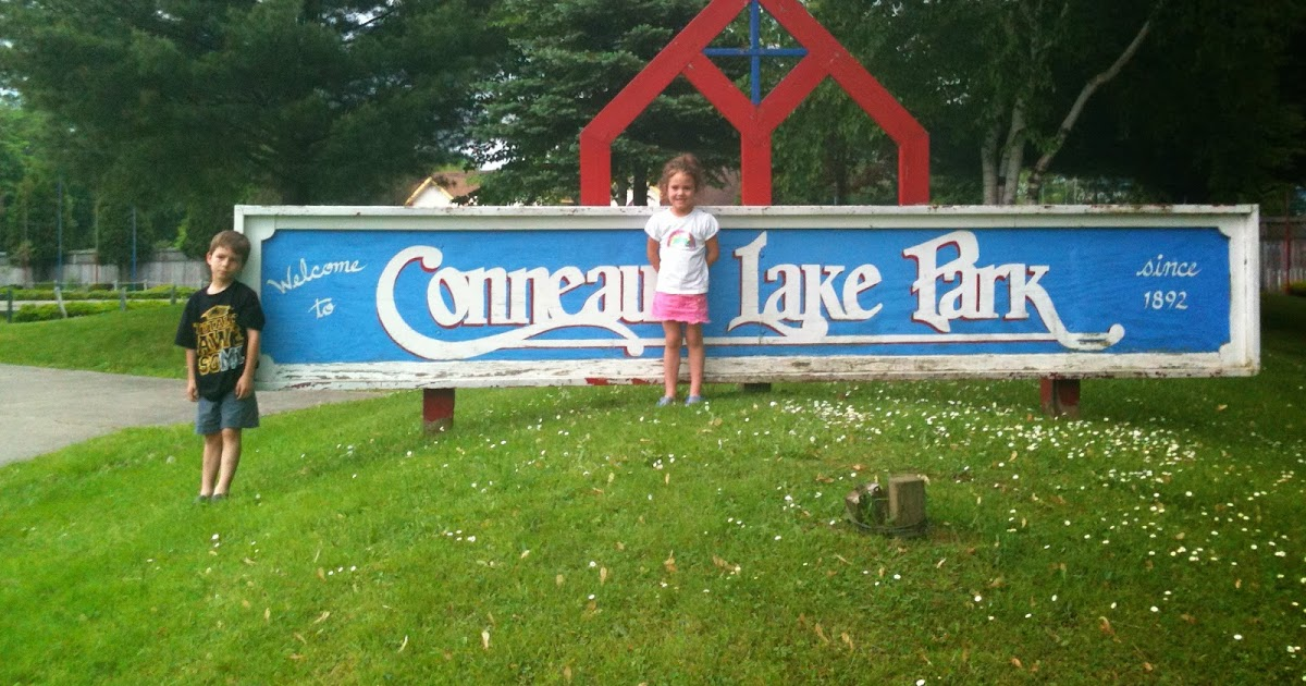 Kidding Around Conneaut Lake Park In Conneaut Pa