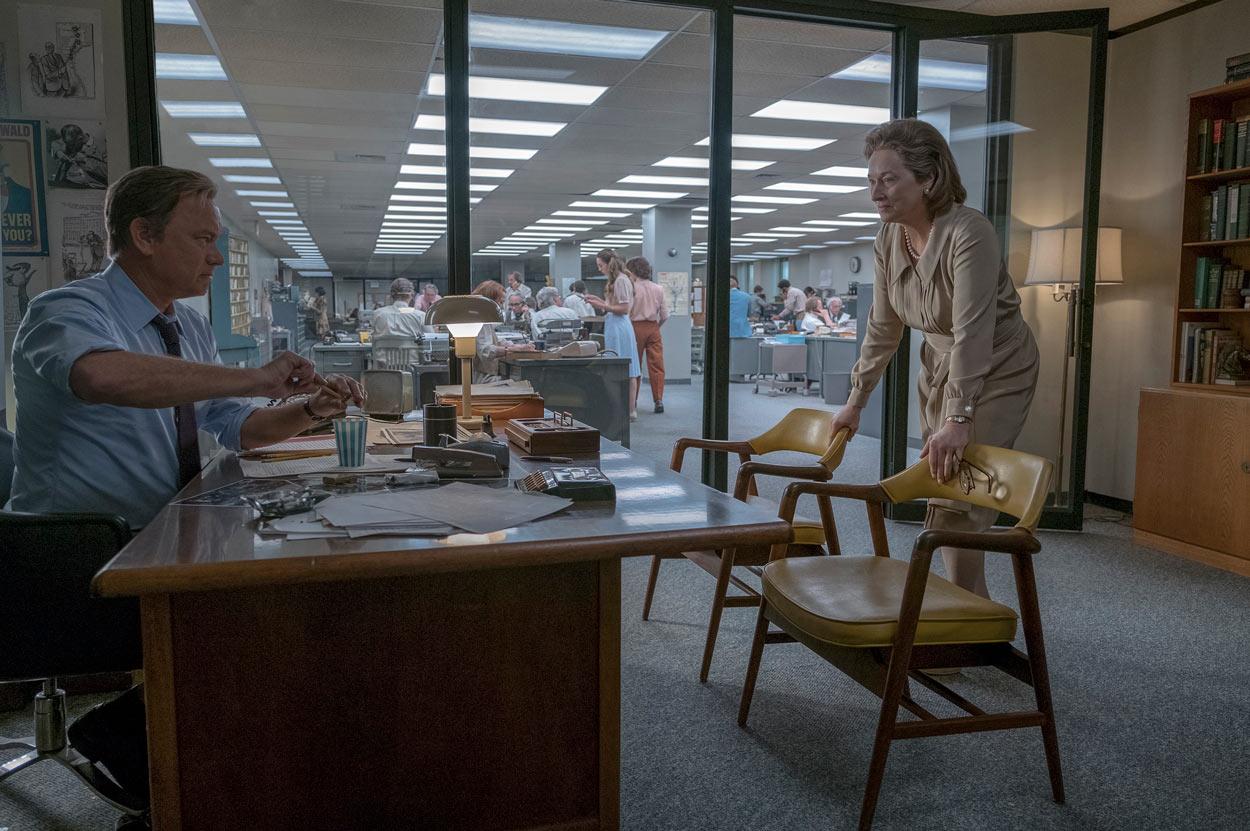 LOS ARCHIVOS DEL PENTÁGONO - protagonistas Tom Hanks y Meryl Streep