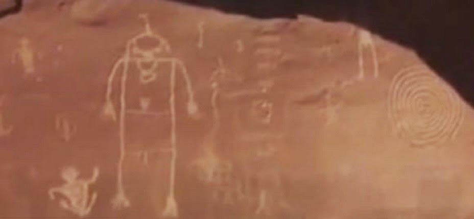 Unmanned aircraft reveals 2,500-year-old petroglyphs in Utah desert
