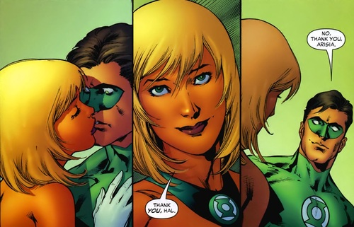 hal jordan girlfriend arisa
