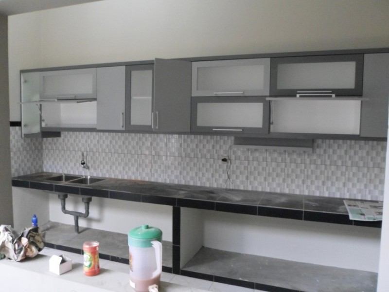 Kitchen Set Minimalis Pintu Engsel Hidrolis  Semarang CuSToM Interior Furniture