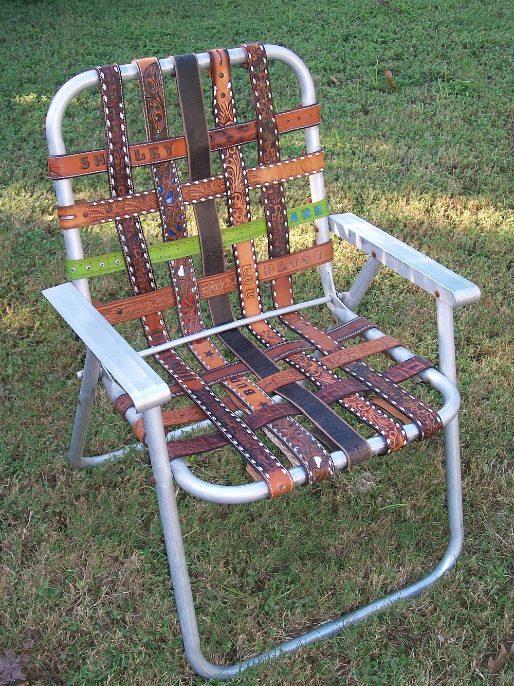 Lawn Chair Webbing Replacement Koken Barber Model Numbers Architecture Products Image: Folding Aluminum