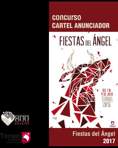 Cartel anunciador de las Fiestas de la Vaquilla del Ángel 2017