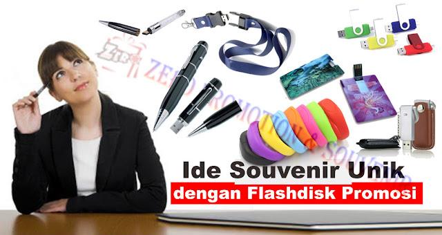 Ide Souvenir Unik dengan Flashdisk Promosi