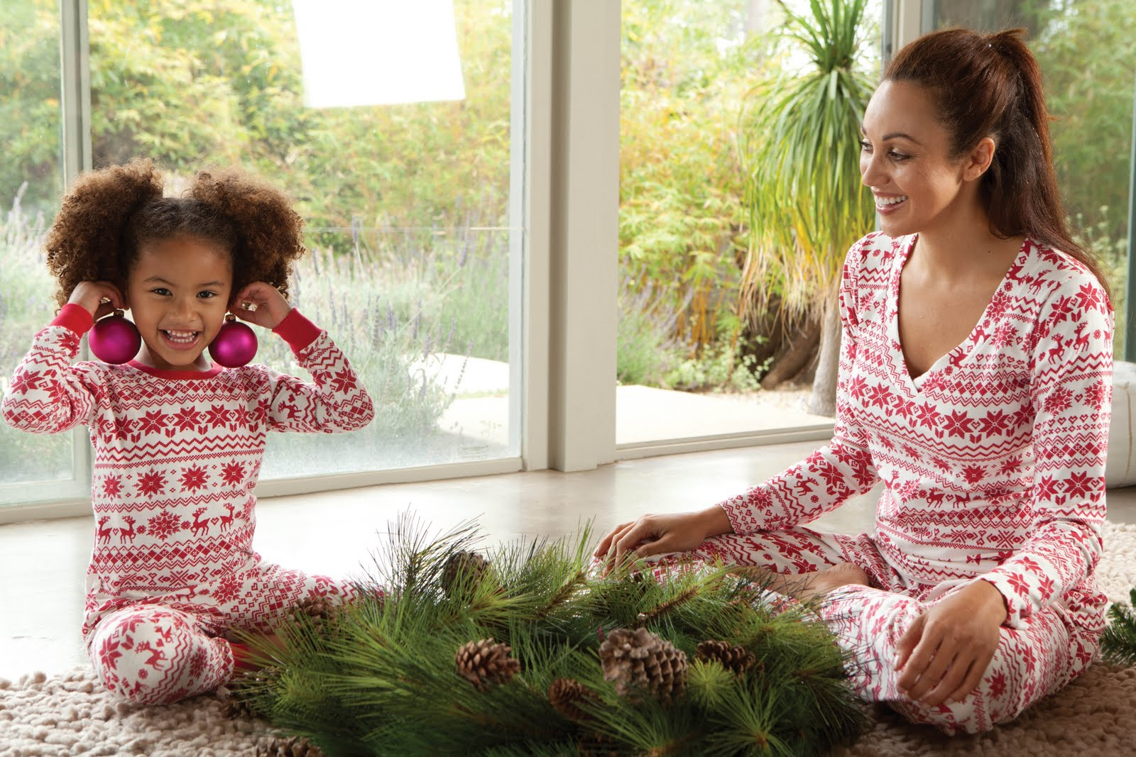 1fb035c8a0 It s not too late to have matching mother daughter pajamas in time for  Christmas Eve! These Fair Isle 100% cotton Bedhead pajamas are so soft
