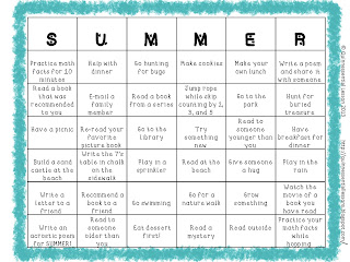 Classroom freebies too summer bingo dont like the activities on my bingo board no worries i have attached a blank one so you can fill it in yourself if you choose solutioingenieria Gallery