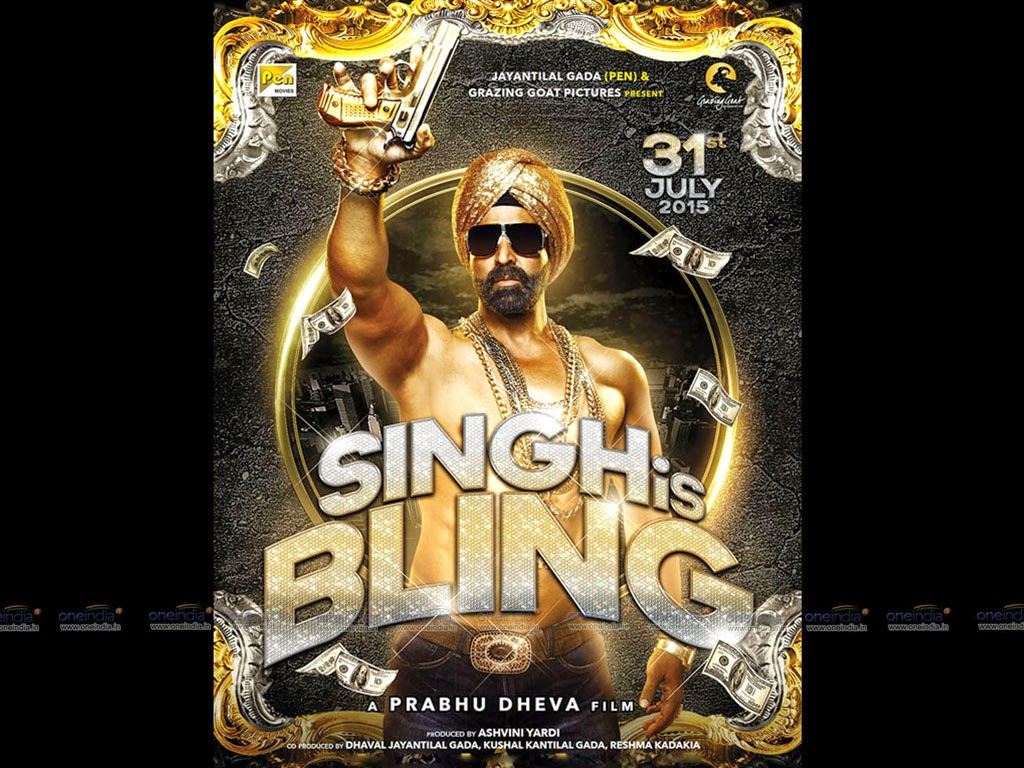 Akshay Kumar New Upcoming movie Singh is Bling first look poster release date star cast