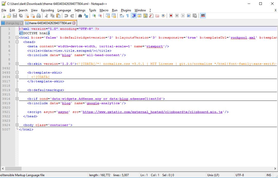 Software to edit blogger template - BLOGGER BEGINS