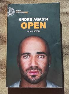 Open Andre Agassi Recensione no spoiler felice con un libro