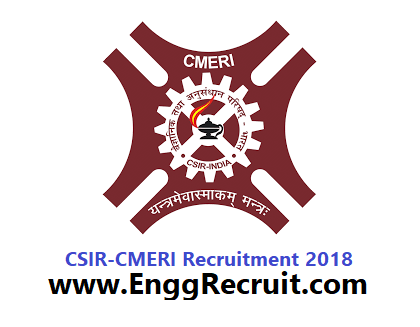 CSIR - CMERI Recruitment