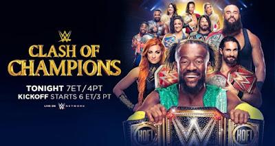 WWE Clash Of Champions 2019 PPV WEBRip 480p 800MB x264