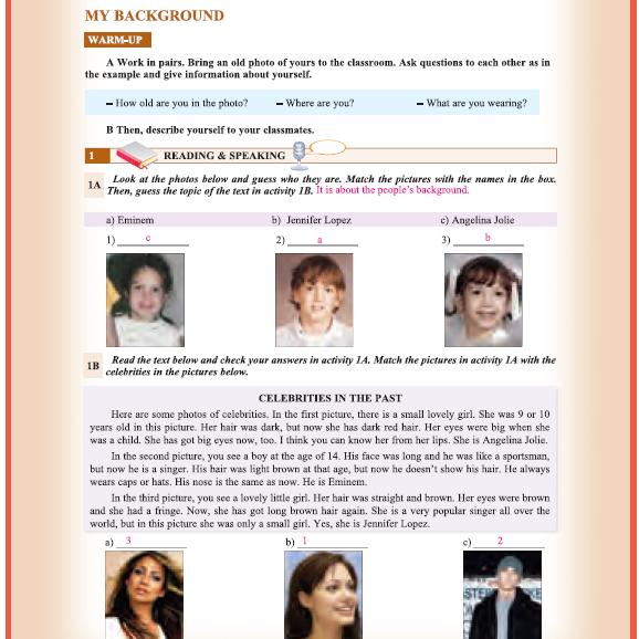 9. Sınıf Yıldırım Yayınları İngilizce A1.1 Ders Kitabı 73. Sayfa Cevapları Theme 6 History