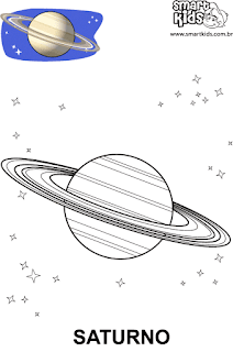 Sistema Solar para colorir