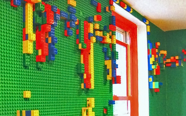 Decorar Paredes Lego