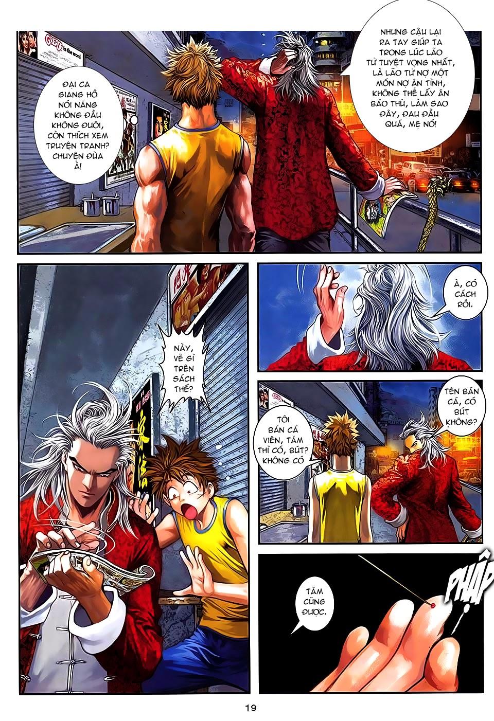 Quyền Đạo chapter 7 trang 18