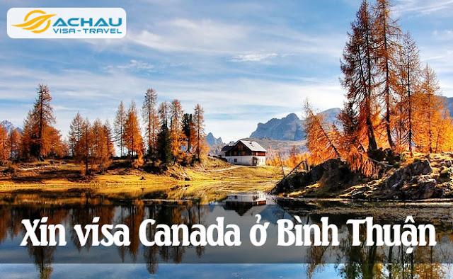 Xin visa Canada ở Bình Thuận
