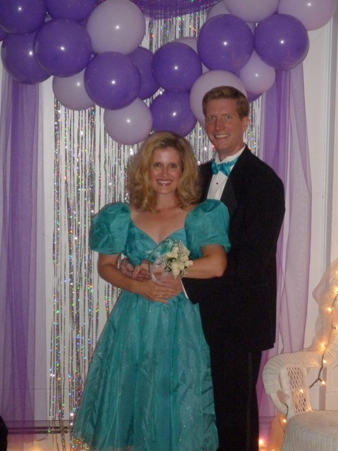 The Princess and The Frog Blog: Prom- 80's style