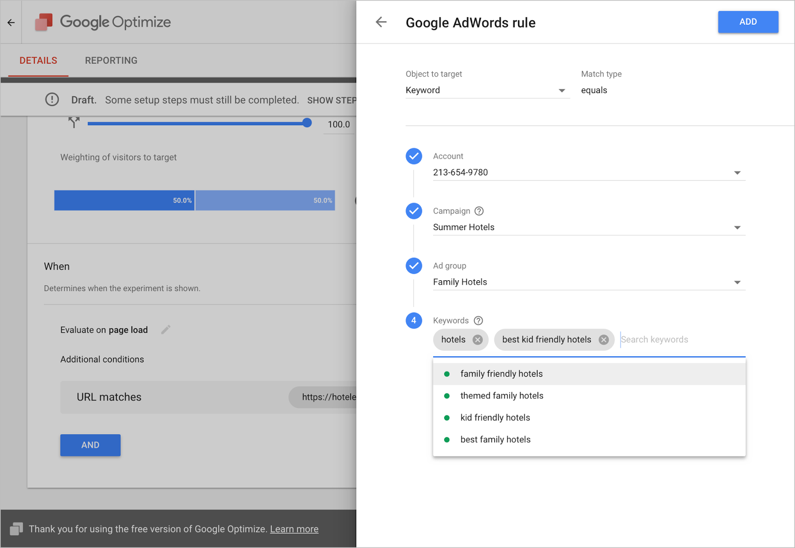 Google Optimize and Google Surveys 360 Join Forces with AdWords