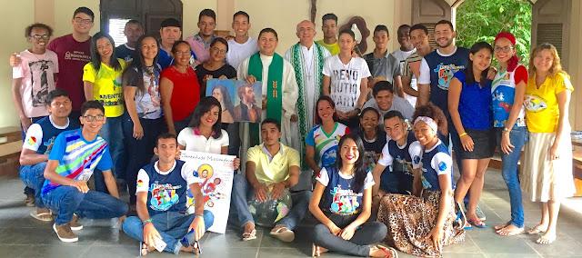 Jovens do Regional Nordeste 5 iniciam Jornada Missionária