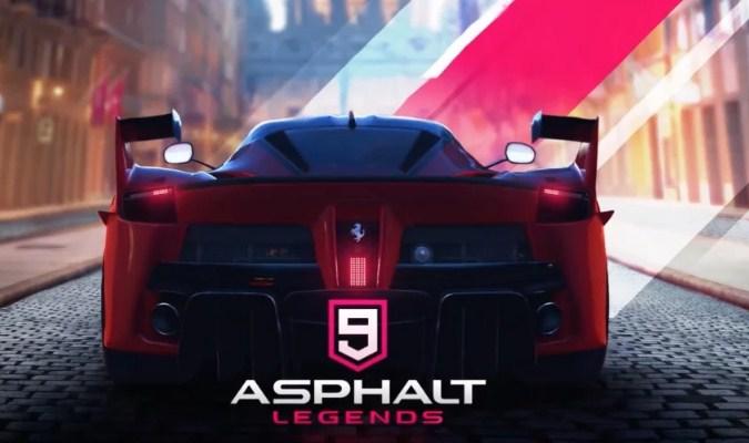 Game Balap Mobil tuk Android - Asphalt 9 Legends