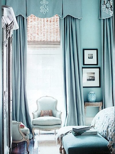 Romantic Blue Bedroom Ideas: How Do I Love Thee: : Bliss : Tiffany Blue