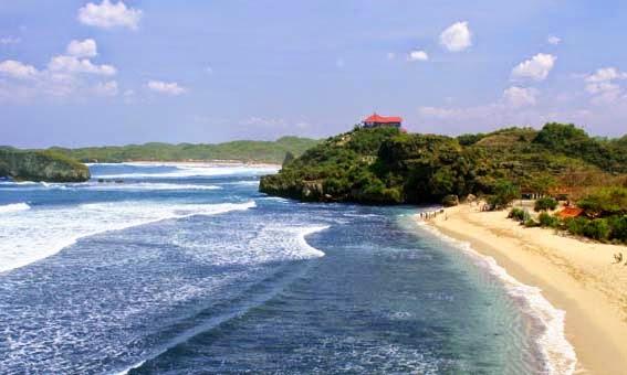 Akses Menuju Pantai Sundak Gunungkidul