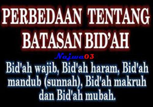 Pengertian Sunah dan Bid'ah Dalam Ibadah Menurut Islam