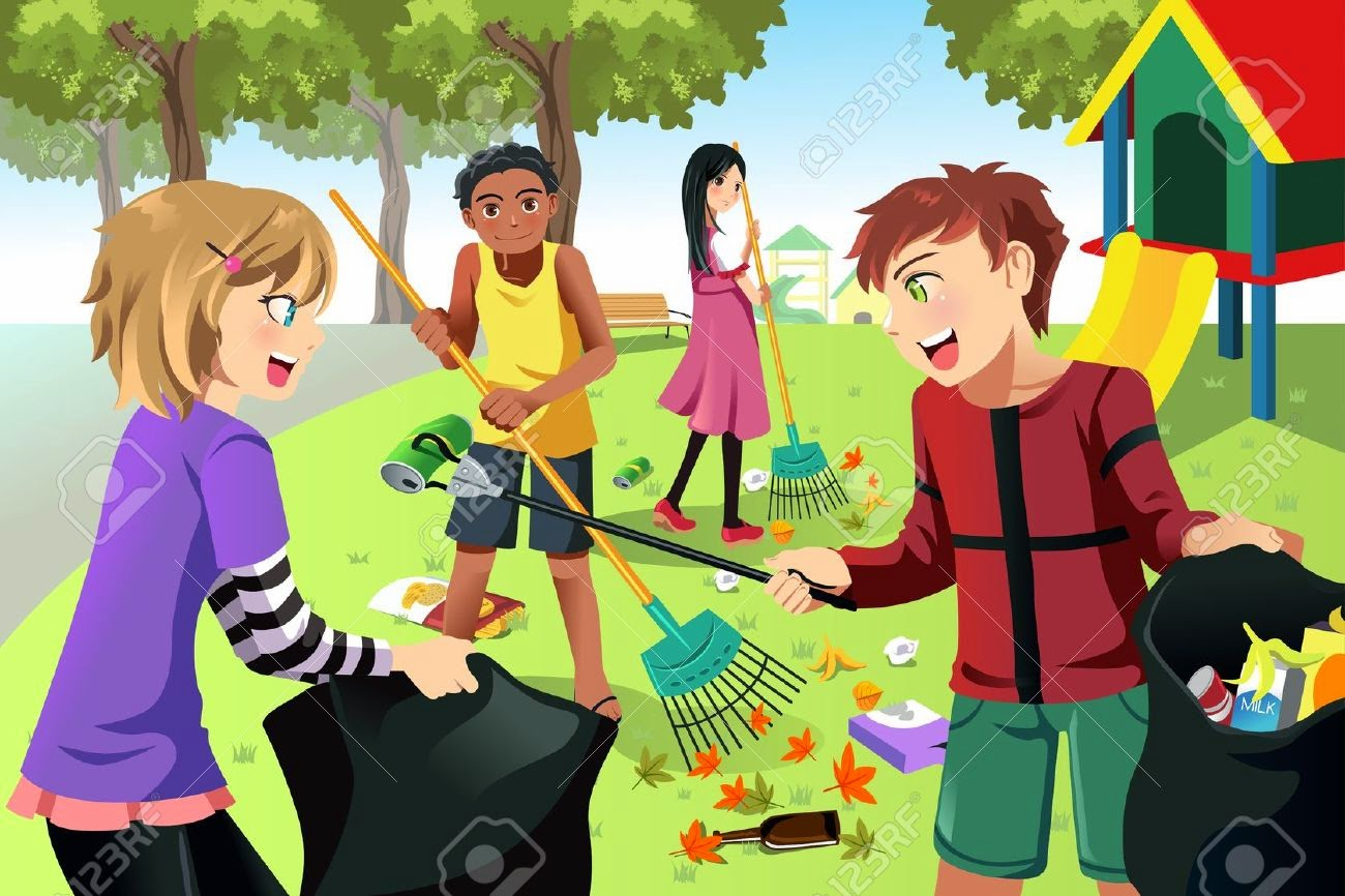 Cleaning The Environment Animated