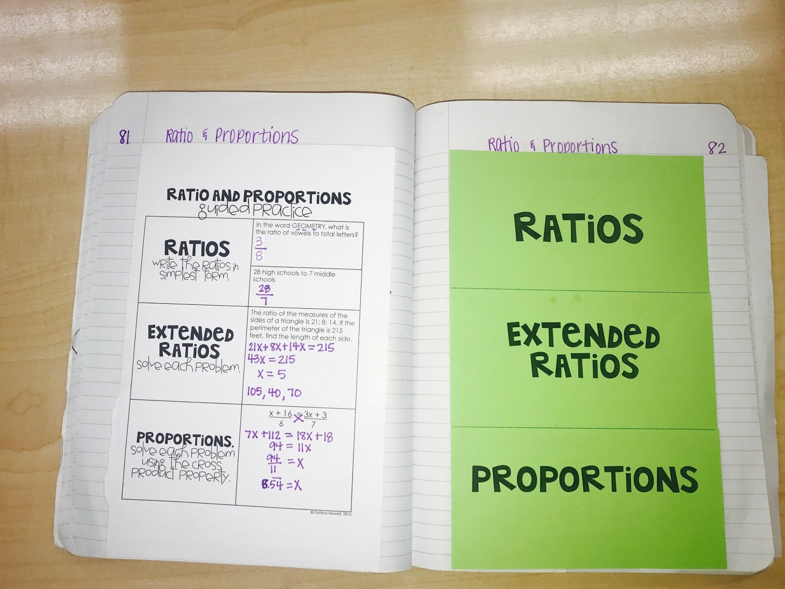 Ratio Proportions And Similar Polygons