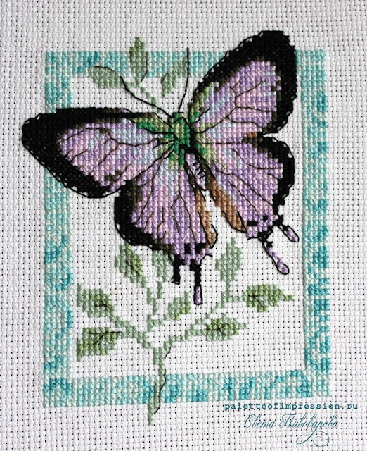 """Дизайн """"Бабочка"""" от """"Кларт"""" Вышивка крестом Блог Вся палитра впечатлений"""