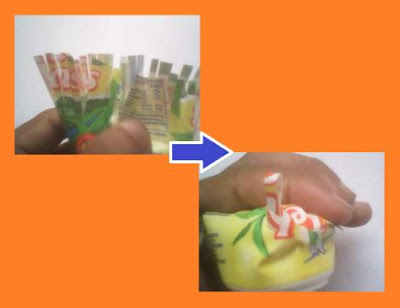 Cara memanfaatkan plastik minuman gelas menjadi tempat wadah telur yang unik