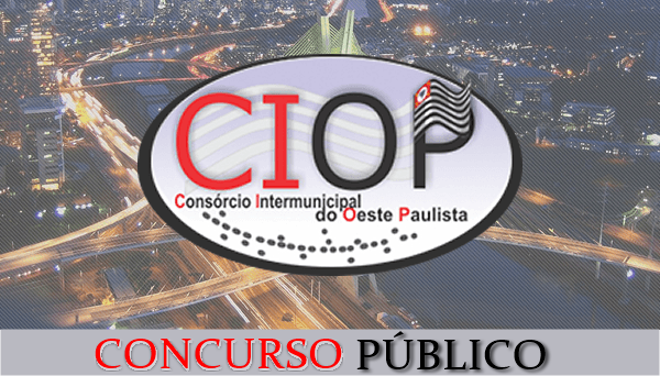 Em Presidente Prudente, Ciop-SP abre concurso público