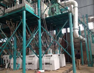 Wheat flour mill with European standard