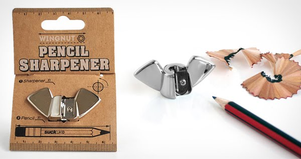 Wingnut Pencil Sharpener