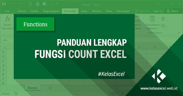 Fungsi Rumus Count Pada Excel