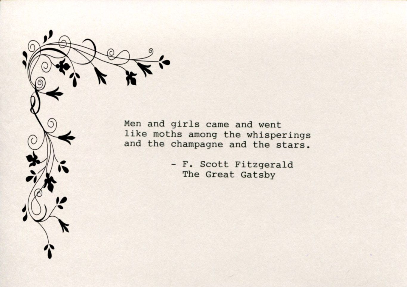 Great Gatsby Quotes | The Great Gatsby Quotes View Wallpapers