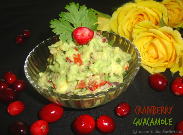 images of Cranberry Guacamole Recipe - Cranberry Recipes