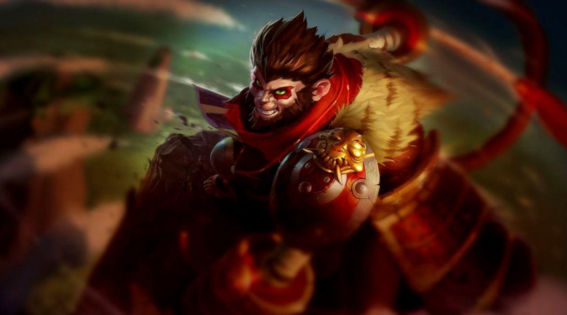 League Of Legends Monkey Volcanic Wukong   Joss Wallpapers