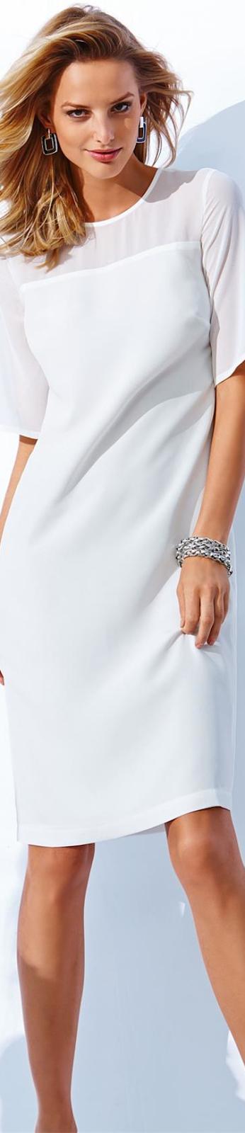 MADELEINE  DRESS IN WHITE