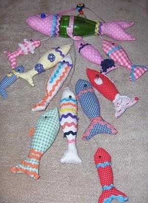 pet şişeden balık