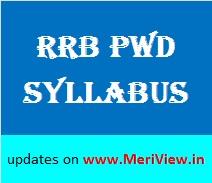 RRB CEN 02/2016 syllabus