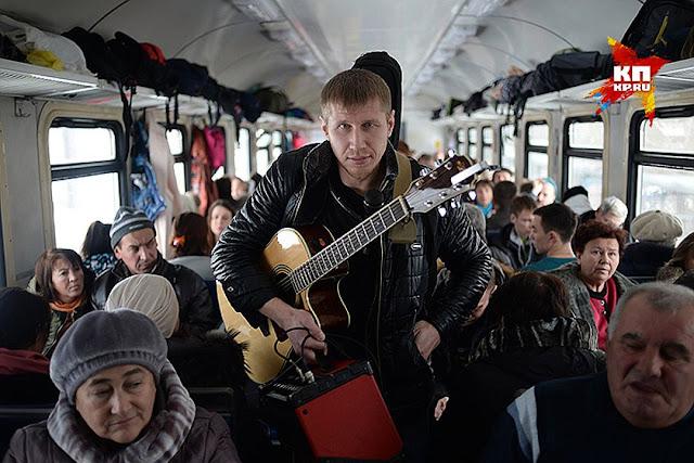 Из Москвы во Владивосток на электричках. Видео