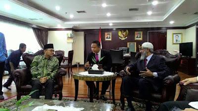 Kunjungi DPR, Zakir Naik: Islam adalah Agama yang Sangat Toleran