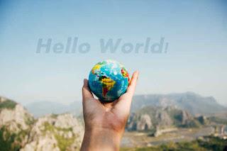 hello world program in c in hindi , c programming का पहला प्रोग्राम