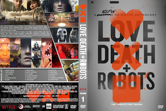 Love, Death & Robots (Love Death And Robots) DVD Cover