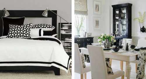Black and White Home Décor