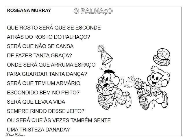 Textos para Imprimir - Dia do Circo