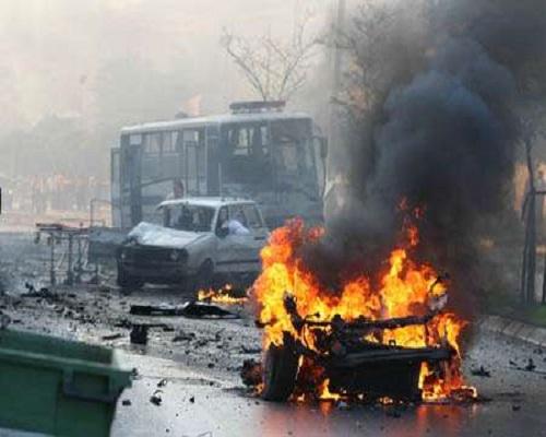 Boko Haram: Suicide bombers hit Maiduguri