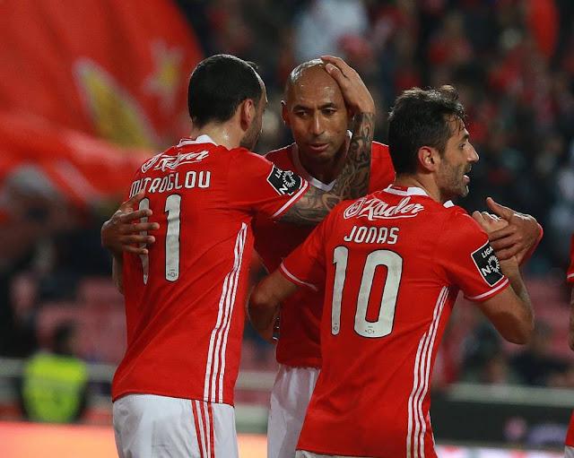 Benfica recebe o Borussia no primeiro jogo das oitavas da Liga dos Campeões (Foto: Divulgação/Benfica)